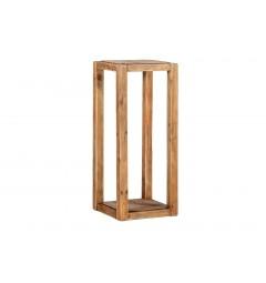 portapiante legno rustico tavolino da salotto
