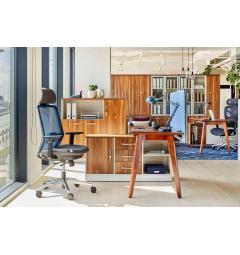 scrivania ufficio legno cassetti