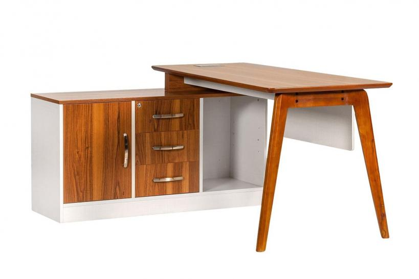 scrivania da ufficio in legno 140 cm