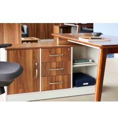 scrivania cm 140 con cassetti