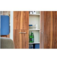 armadio due ante ufficio in legno