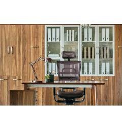 libreria ufficio chiusa legno