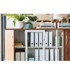armadietto portadocumenti ufficio in legno