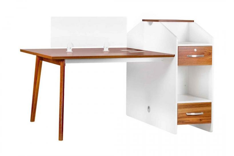 scrivania ufficio doppia postazione