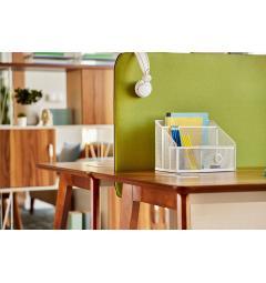 scrivania ufficio legno chiaro