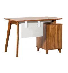 scrivania con cassetti 120 cm