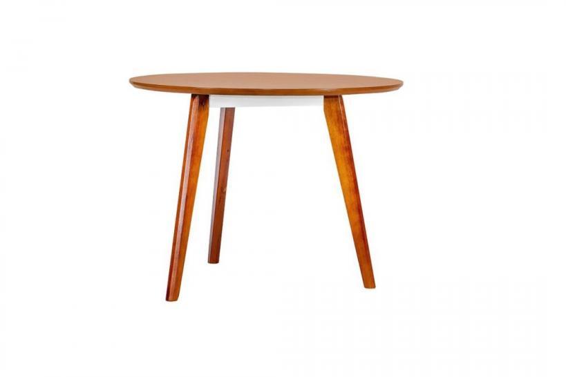 tavolo rotondo moderno 80 cm ufficio in legno