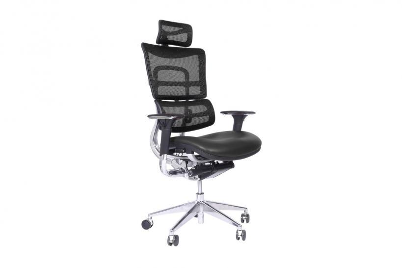 Sedia ergonomica da ufficio nera