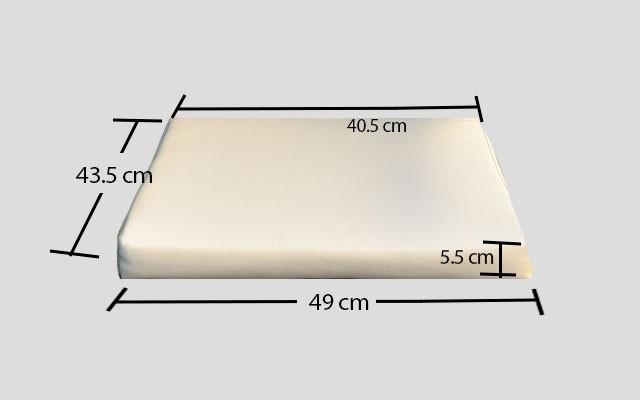 cuscino per sedie da esterno quadrati sfoderabili - Cuscini Quadrati Per Sedie