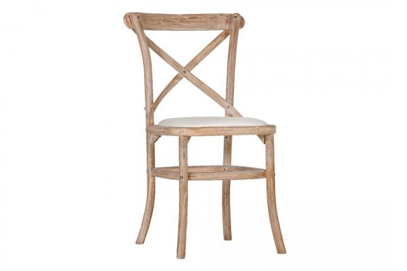 sedie schienale a croce shabby