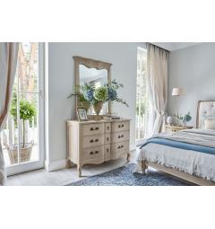 camere letto shabby chic
