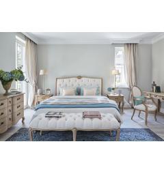 idea shabby camera letto legno