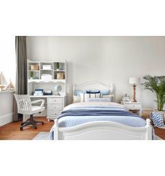 camera da letto per ragazze di colore bianco