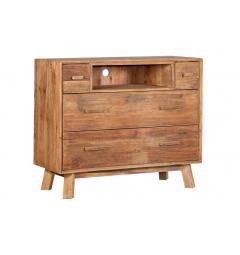 mobili cassettiera legno naturale