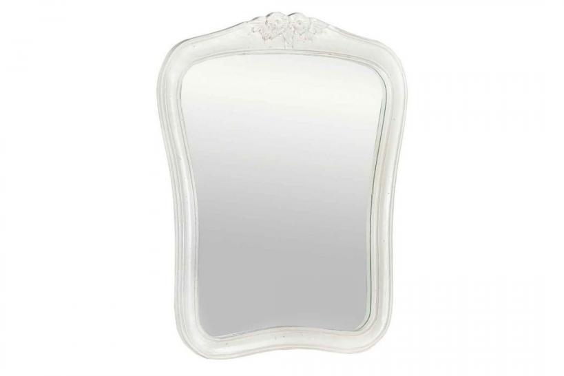 Specchi per casa con cornice bianca