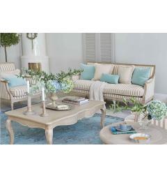 divano a righe colorate