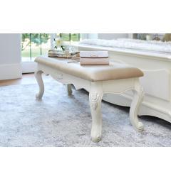 panca fondo letto legno bianco