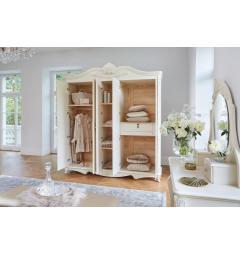 armadio 5 ante bianco avorio classico