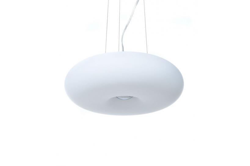 Lampadario Eglo Optica Vibia Vol in vetro design a forma ad anello per illuminare la casa adeguato a tutti gli ambienti