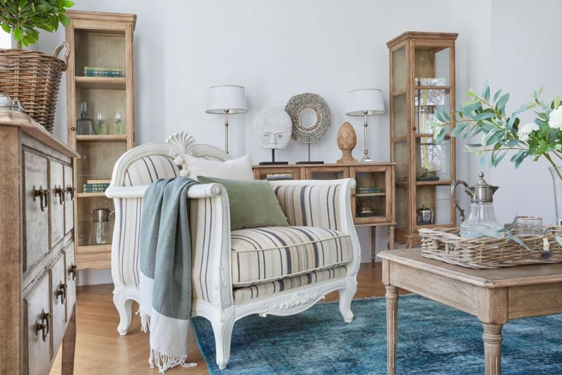 poltrone shabby country