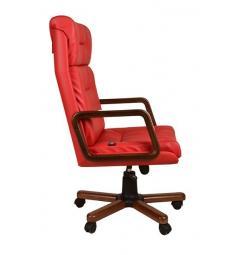 poltrone ufficio rosse eleganti