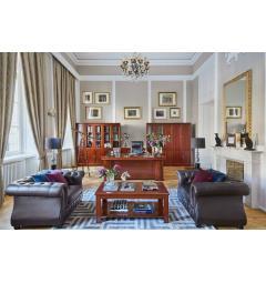 libreria e scrivania classica per arredare ufficio direzionale prestigioso