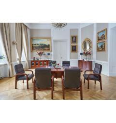 tavoli riunione rettangoli legno classici