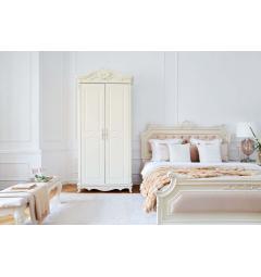 armadi bianchi avorio classici due ante