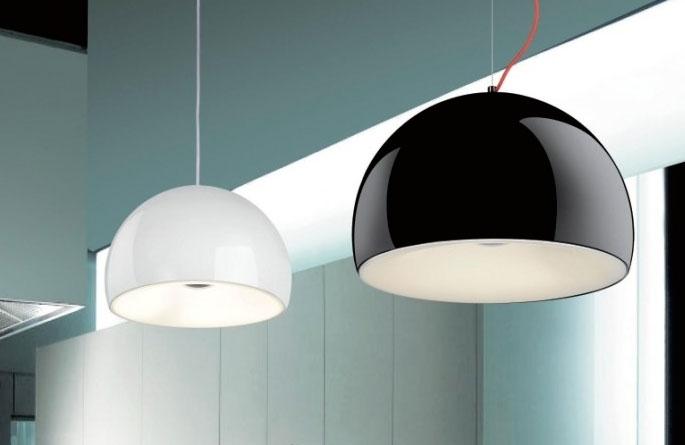 Lampadario per cucina e casa disponibile in due colori - Lampadari a soffitto per cucina ...