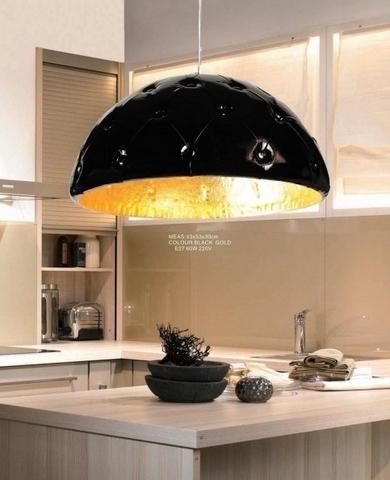 lampadario moderno candelabro nero : Lampadario moderno a sospensione Chesterio in Ecopelle colore Nero