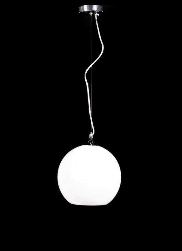 Lampadario rotondo moderno bianco o nero per arredare la tua casa