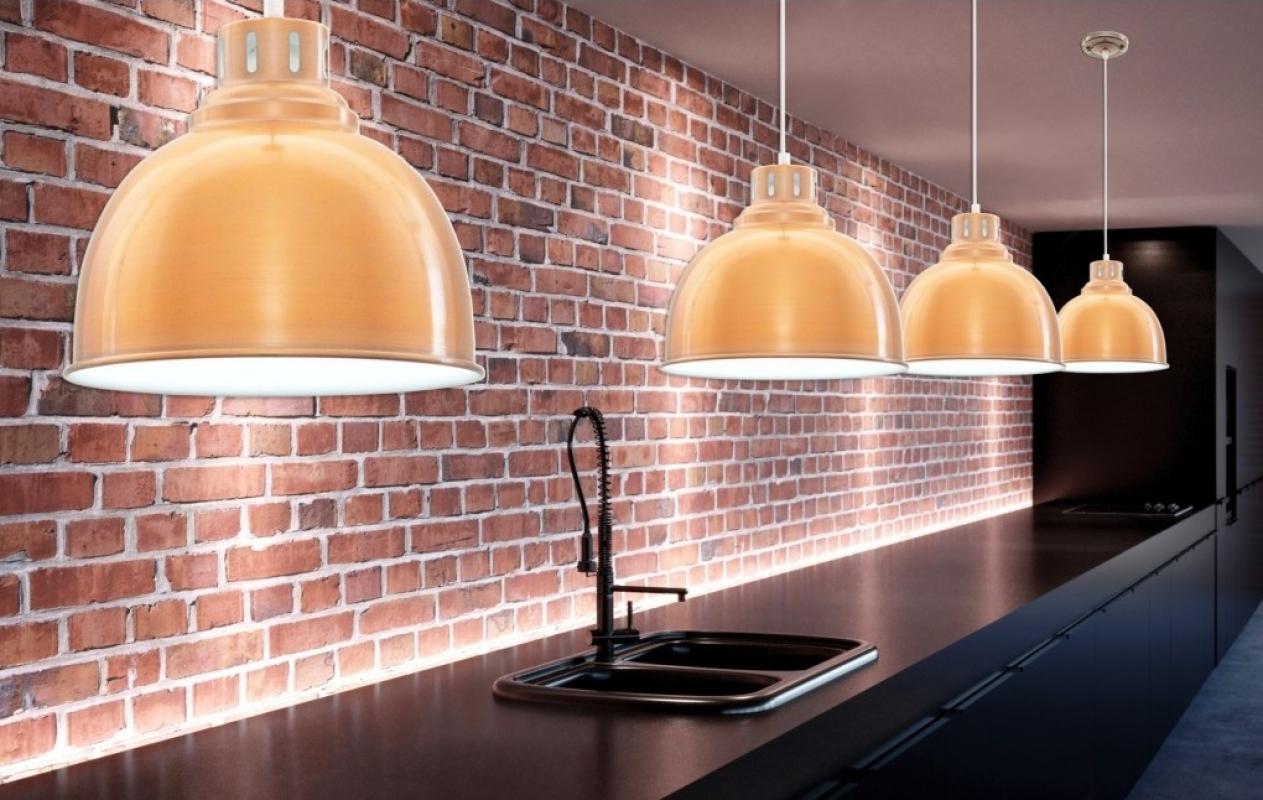 fabian lampadari : Illuminazione > Lampadario a sospensione stile industriale Fabianno
