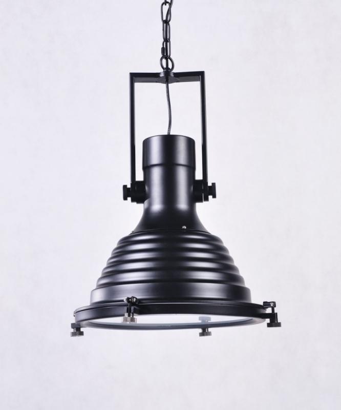Lampadario a sospensione stile industriale nera per bar e ristoranti