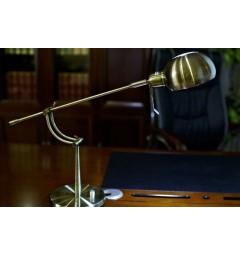Lampada da tavolo Rolf in Ottone