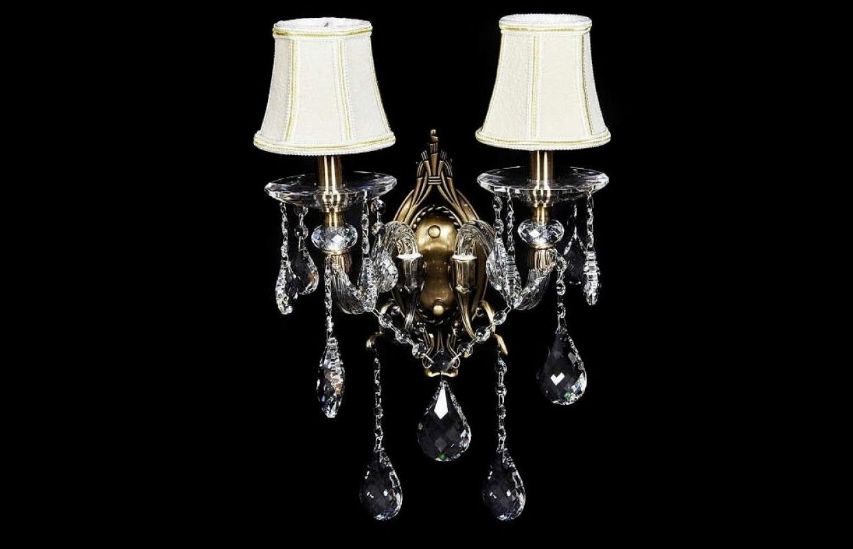 Applique a 2 luci classica elegante e raffinata