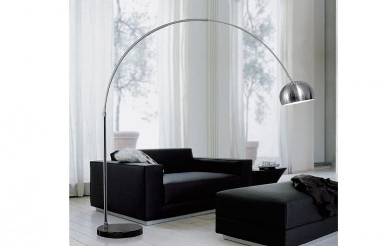 Piantana lampada da terra ad Arco stelo 190x170 cm Design moderno ...