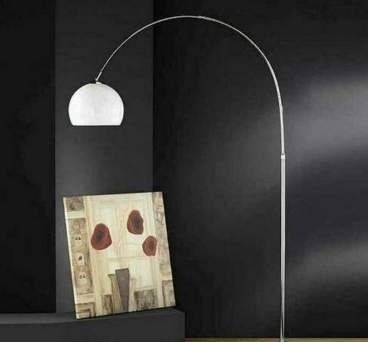 Lampada ad arco di design moderno per una perfetta for Planimetrie per cabine ad arco