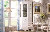 Vetrina ad angolo Princess 830 colore Bianco