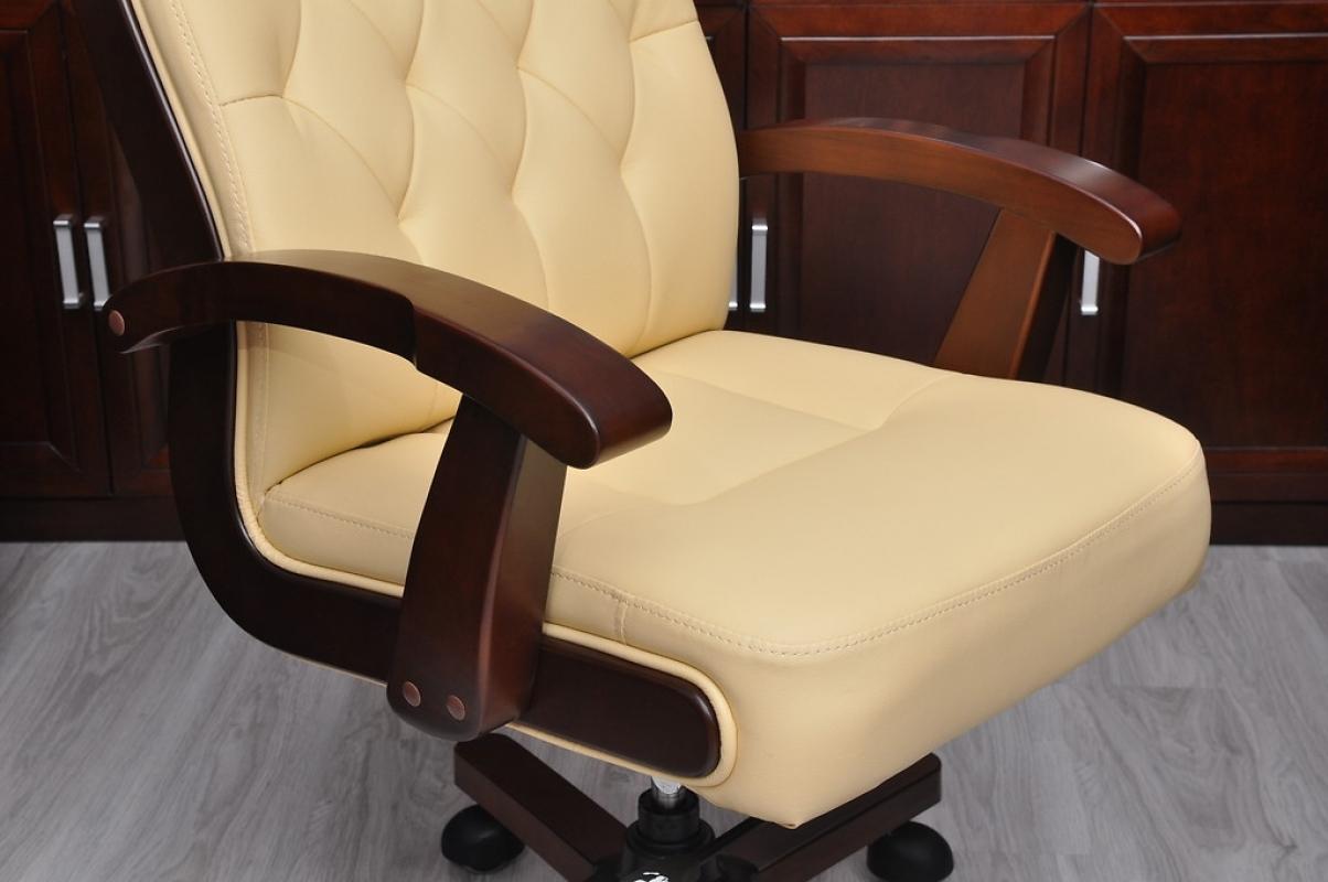 Sedie Da Ufficio In Pelle : Sedia ufficio pelle legno poltrona sedia ufficio design vintage