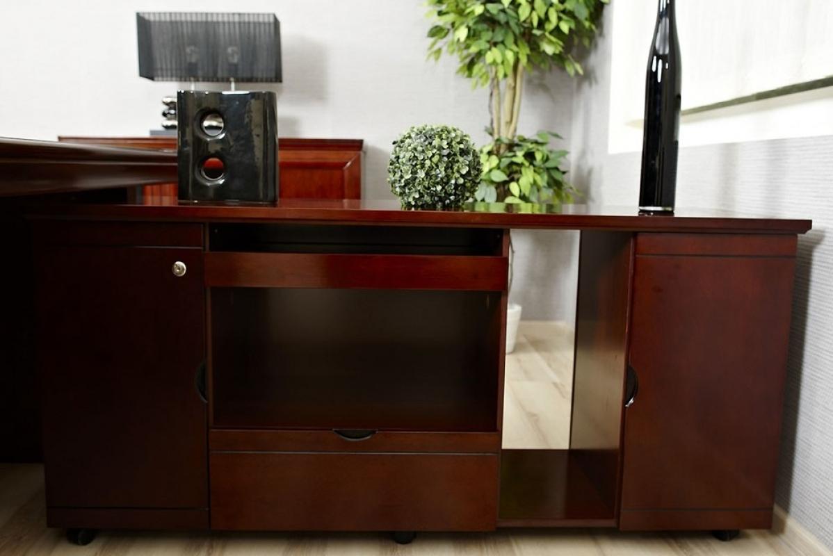 Arredo ufficio completo in stile classico con scrivania da for Ufficio completo