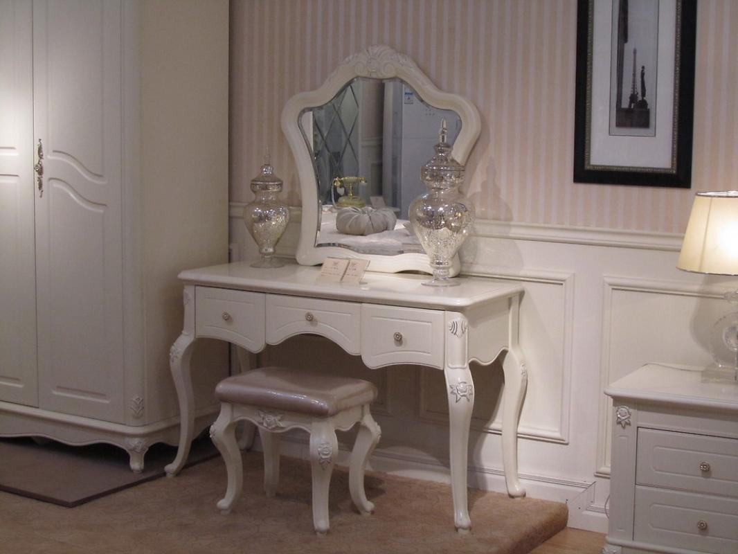 Toletta con specchio bella 903 colore avorio - Toletta da camera ...