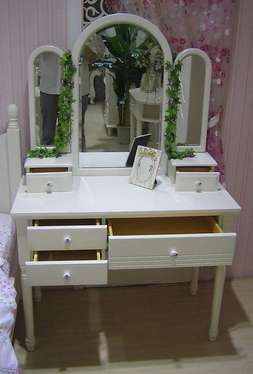 Toletta con specchio princess 808 colore bianco - Toletta con specchio ...