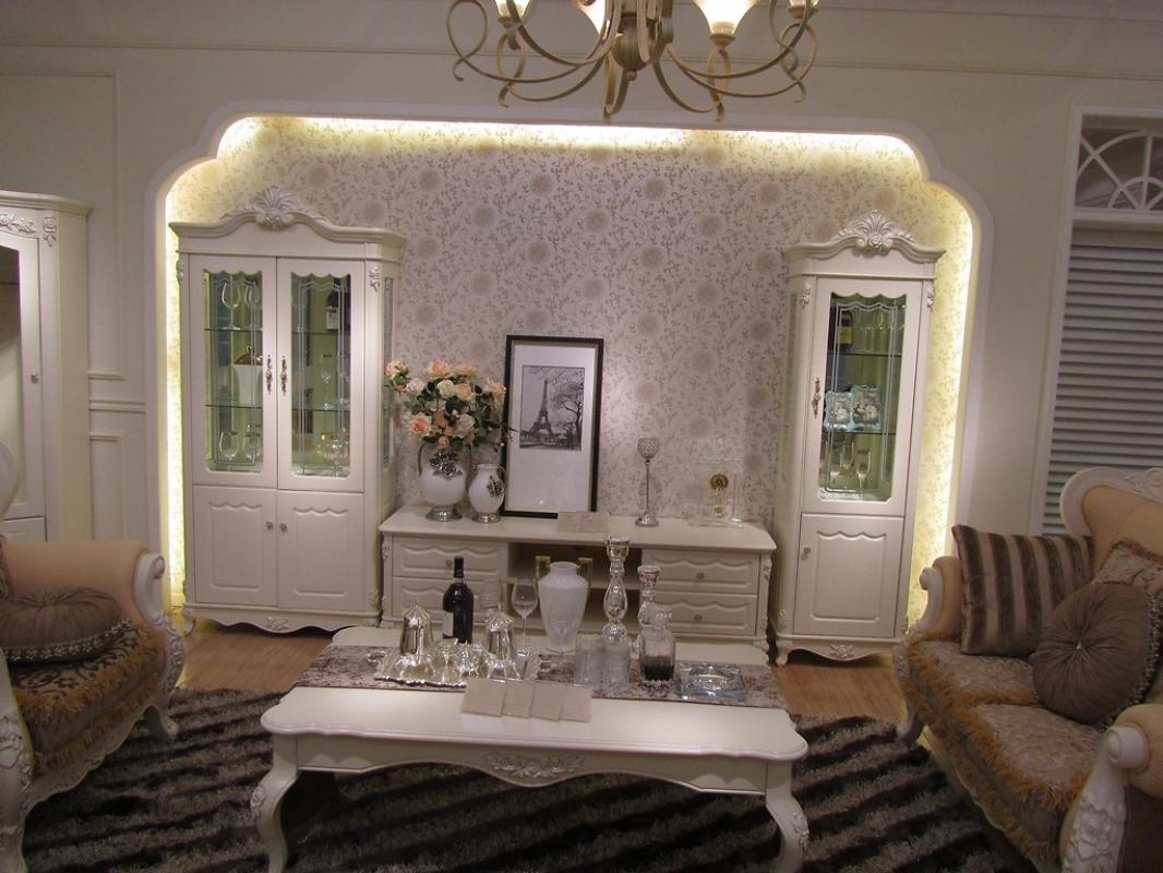 Vetrina cristalliera classico arredo soggiorno sala da pranzo ...
