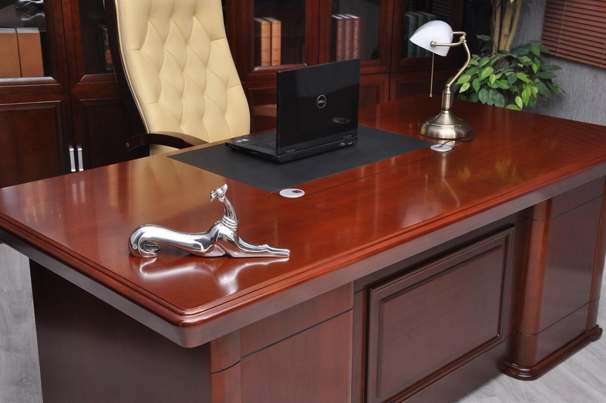 Scrivania direzionale presidenziale da ufficio per manager for Ikea scrivanie ufficio