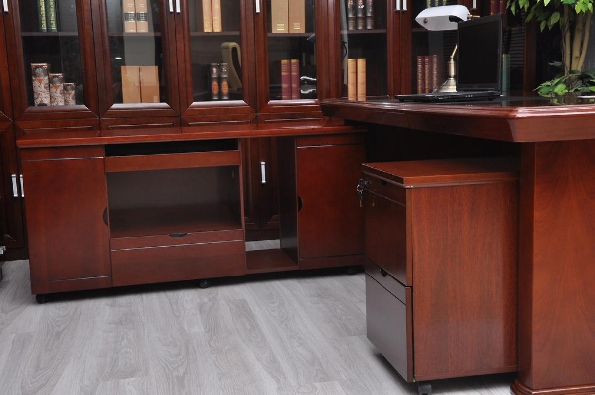 Laterale su ruote per scrivania da 1 4m for Sgabello per scrivania