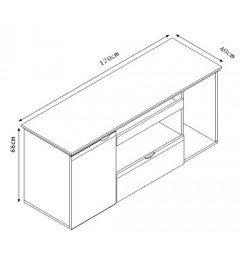 Laterale-su-ruote-per-scrivania-da-1,2M-2