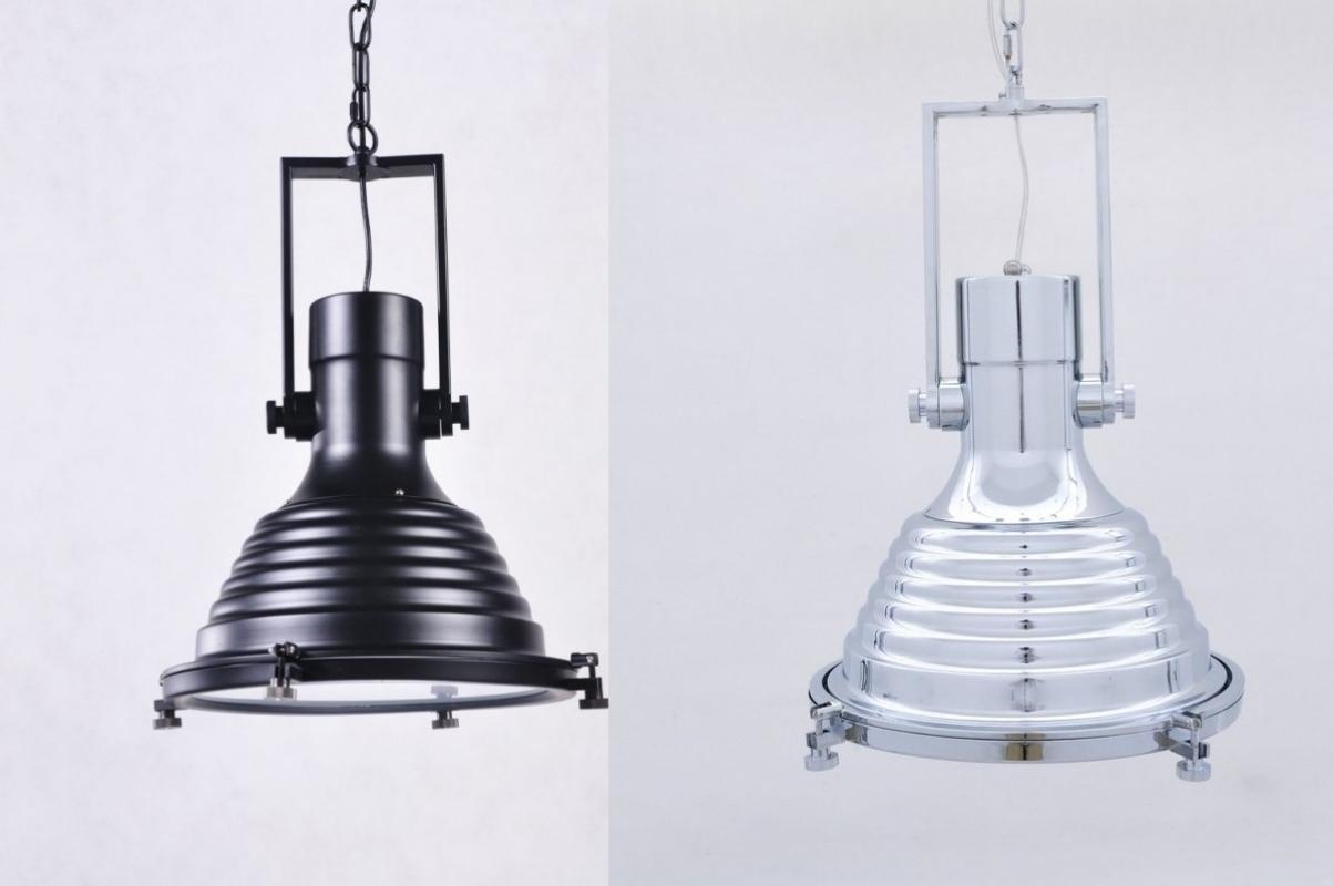 Lampadario a sospensione stile industriale nera per bar e - Ikea lampade a sospensione ...