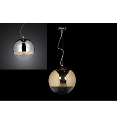 Lampadario a sospensione Tom Dixon Mirror Ball Oro