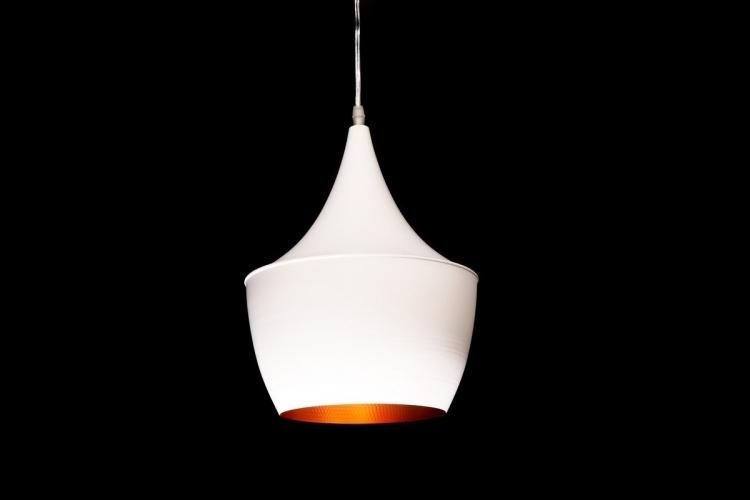 Lampadario a sospensione stile industriale Foggi 12B Bianco