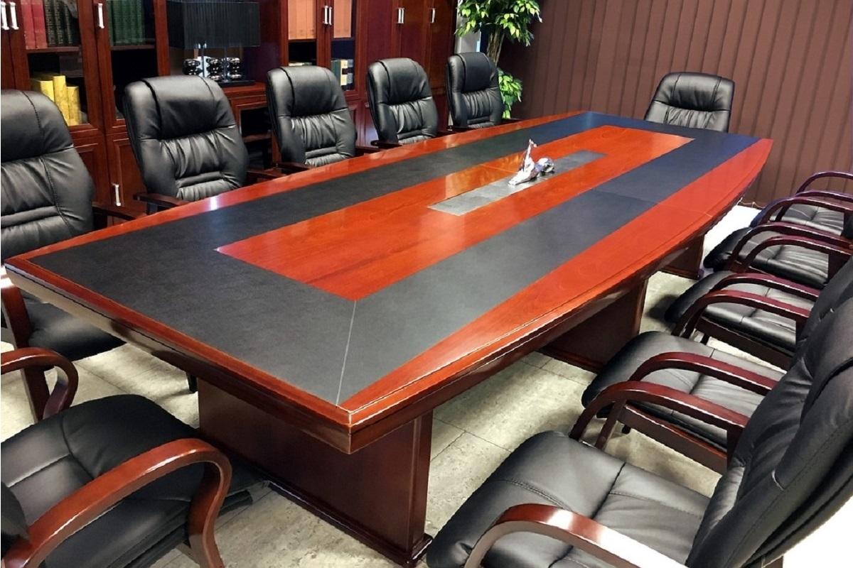 Tavolo da Sala Riunione Conferenza Stampa Meeting Ufficio ...